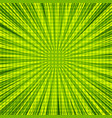 abstract green explosion and burst background vector image vector image