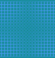blue simple halftone line pattern background vector image vector image