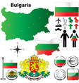 Bulgaria map vector | Price: 1 Credit (USD $1)
