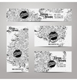 Corporate Identity templates set vector image vector image