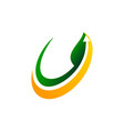 farm and garden logo design template vector image