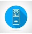 Ice water machine line icon vector image vector image