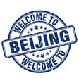 welcome to beijing vector image vector image