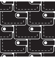 pouch wallet icon seamless pattern vector image vector image