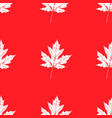 prints of leaves of trees seamless pattern vector image vector image
