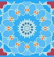 seamless pattern in arabic style muslim eastern vector image vector image