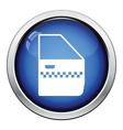 Taxi side door icon vector image vector image