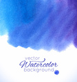 Watercolor abstract colorful textured background vector image