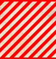 worn warning sign white and red stripes vector image vector image