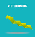 arrow infographic design vector image vector image