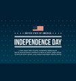 celebration independence day background style vector image vector image