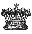 earl coronet from a tiara in that a coronet vector image vector image