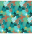 Hand painted pattern with splatters vector image vector image
