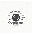 Old Tailors Workshop Vintage Sewing or Clothing vector image vector image