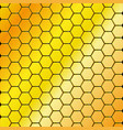 seamless honeycomb background vector image