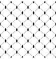 Seamless simple pattern with houses vector image vector image