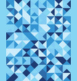 seamless triangular patter vector image vector image
