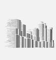 smartbuildings vector image