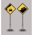 traffic signals design vector image