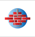 Construction logo design vector image vector image