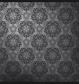 dark lace pattern vector image vector image