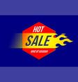 emblem hot sale price offer deal labels template vector image vector image