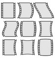 film strip for photography concepts set of vector image vector image