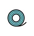 medical bandaid icon vector image