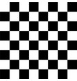 realistic chess board vector image vector image