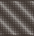 seamless halftone square pattern vector image vector image