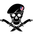 sign special forces usa vector image