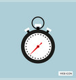 stopwatch icon stopwatch icon eps10 stopwatch vector image vector image