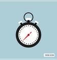 stopwatch icon stopwatch icon eps10 stopwatch vector image