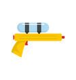 water gun pistol icon flat style vector image