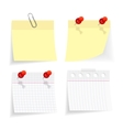 note set vector image