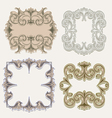 victorian frames vector image