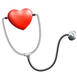 A medical stethoscope vector image vector image