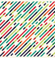 abstract seamless diagonal red green and blue vector image vector image