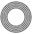 Algorithm Data Code Decryption and Encoding vector image vector image