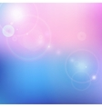 blur blue and pink background vector image vector image