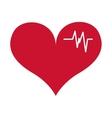 cardio icon vector image vector image