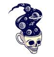 drink universe vector image vector image