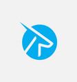 gazelle icon design gazelle logo vector image vector image