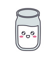 kawaii milk glass icon