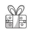 line present gift to celebrate special day vector image vector image