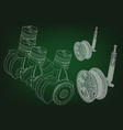the car engine vector image vector image