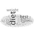 best diet key features your diet must have vector image vector image
