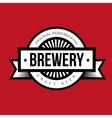 Brewery vintage logo vector image vector image