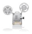cinema projector 01 vector image vector image