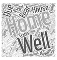 Information About Home Security Word Cloud Concept vector image vector image